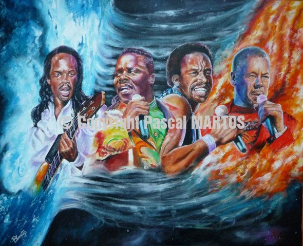 Earth Wind & Fire print