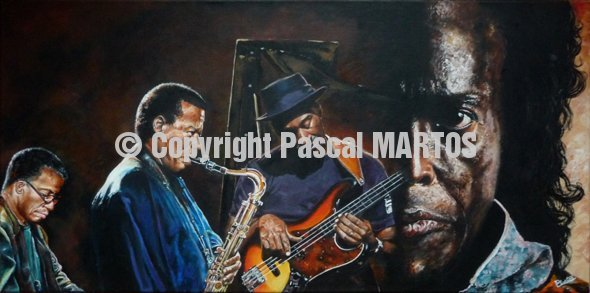 M2.H.S. Herbie Hancock, Wayne Shorter & Marcus Miller playing the music o fMiles Davis