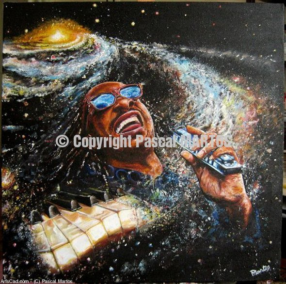 Stevie Wonder (Sold)