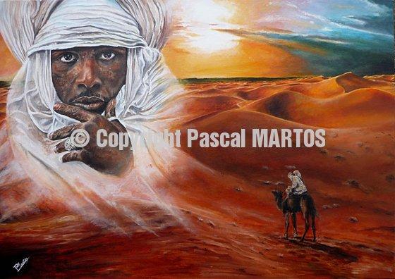 Sahara print